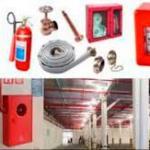 Montagem de sistema de hidrantes